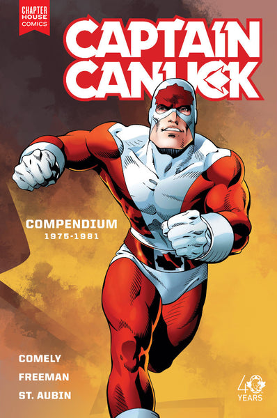 CAPTAIN CANUCK SERIES ONE COMPENDIUM 1975 - 1981 Trade Paperback
