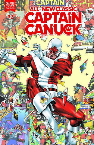 All New Classic Captain Canuck #1 - Mike Rooth Variant