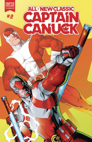All New Classic Captain Canuck #2 - Claude St. Aubin Variant