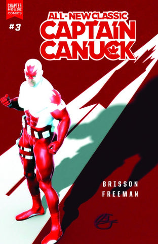 All New Classic Captain Canuck #3 - Variant Cover