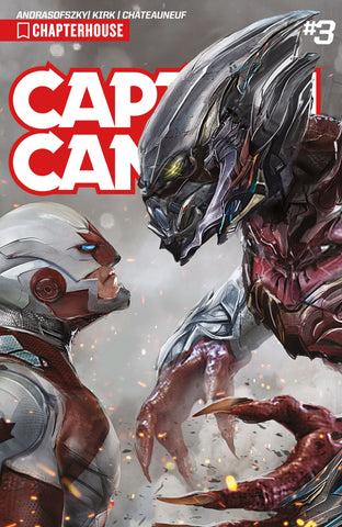 CAPTAIN CANUCK (2017) #3 (Cover by John Gallagher)