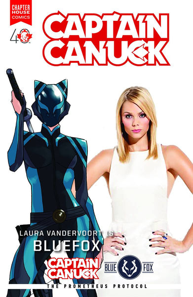 Captain Canuck #9 (Cover B -  Laura Vandervoort Photo Cover)