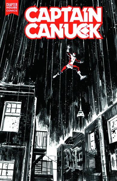 Captain Canuck #6 (Cover B by Michael Walsh)