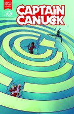 Captain Canuck #8 (Cover A by Kalman Andrasofszky)