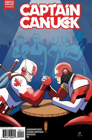 Captain Canuck #11 (Cover C by Andrew Thomas)