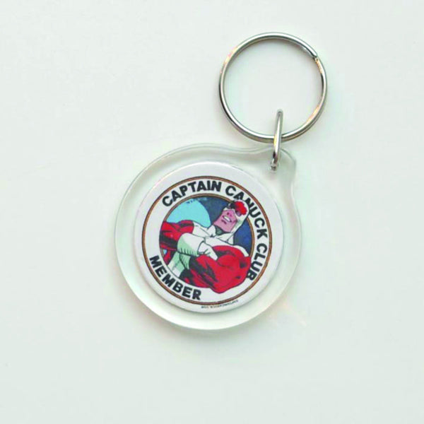 Captain Canuck Club Keychain