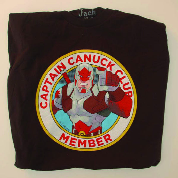 New Captain Canuck Wants You! Club Member T-shirt