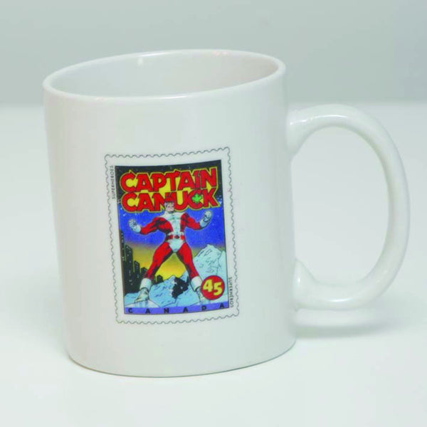 Postage Stamp Classic Captain Canuck Club Member Mug