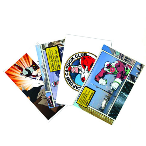 Captain Canuck Postcard Set