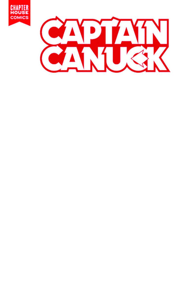 Captain Canuck #2 (Cover D - Blank Sketch Variant)