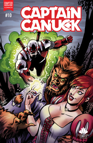 Captain Canuck #10 (Cover C - Die Kitty Die tie-in Cover by Fernando Ruiz)