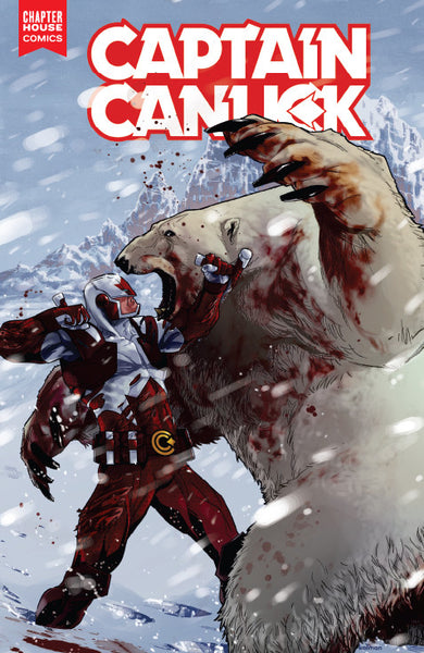 Captain Canuck #4 (Cover A by Kalman Andrasofszky)