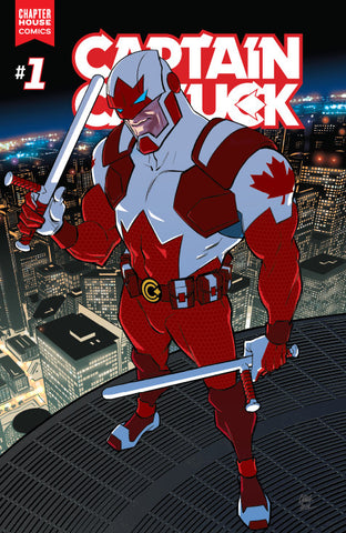 Captain Canuck #1 (Cover C by Cameron Stewart)
