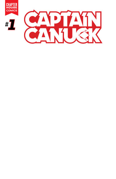 Captain Canuck #1 (Cover D - Blank Sketch Variant)