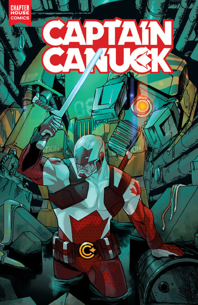 Captain Canuck #2 (Cover A by Kalman Andrasofszky)