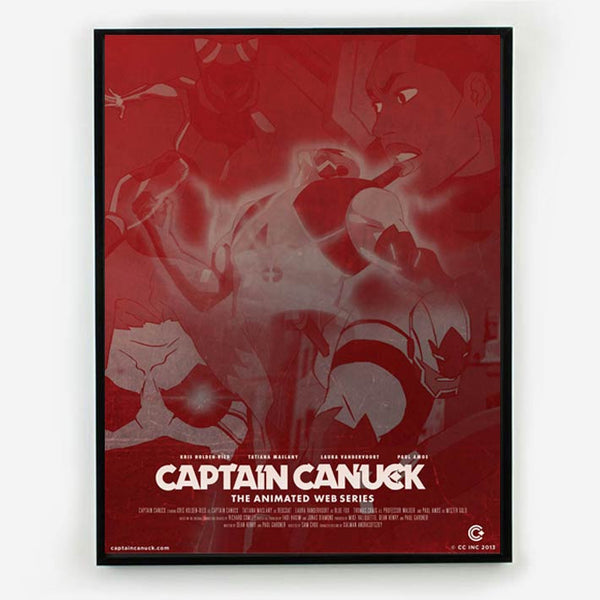 Captain Canuck Animated Series Poster