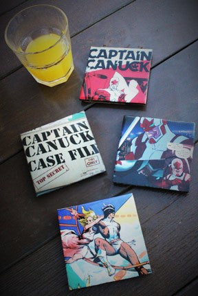 Captain Canuck Coasters