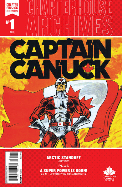 Chapterhouse Archives #1 featuring Captain Canuck