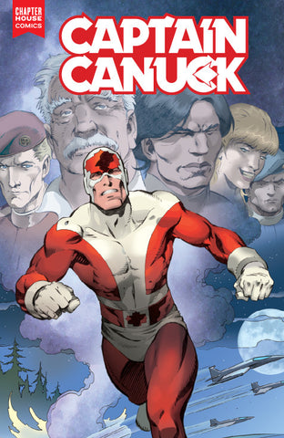 Captain Canuck #1 (Cover E by George Freeman, Big B Comics Variant)