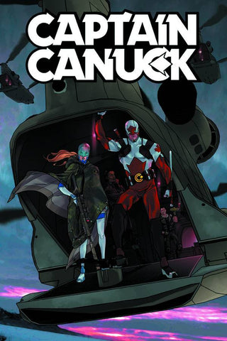 Captain Canuck #1 (Cover B by Kalman Andrasofszky)