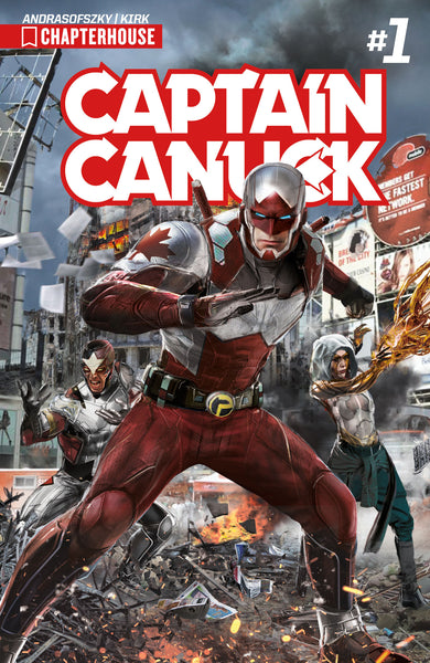 CAPTAIN CANUCK (2017) #1 (Cover by John Gallagher)
