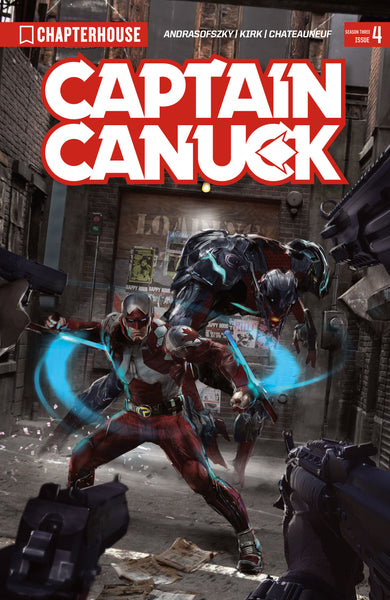 CAPTAIN CANUCK (2017) #4 (Cover by John Gallagher)