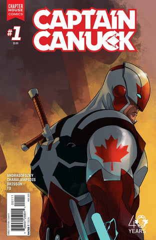 Captain Canuck #1 (Cover A by Kalman Andrasofszky)