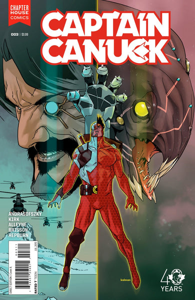 Captain Canuck #3 (Cover A by Kalman Andrasofszky)