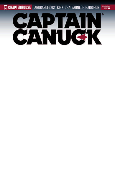 CAPTAIN CANUCK 2017 #1 (Cover B Blank Sketch Variant)