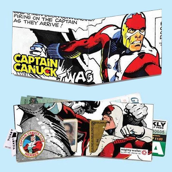 Captain Canuck Mighty Wallet