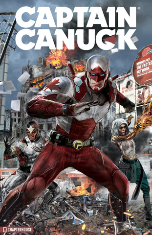 Captain Canuck 12x18 print