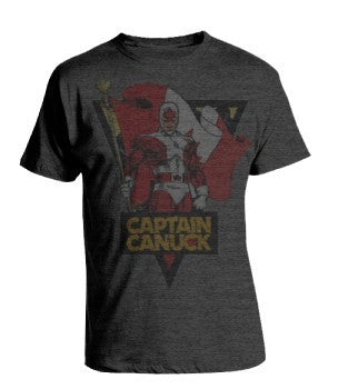 Vintage Fade Classic Captain Canuck T-shirt