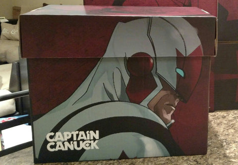 Captain Canuck Comic Box