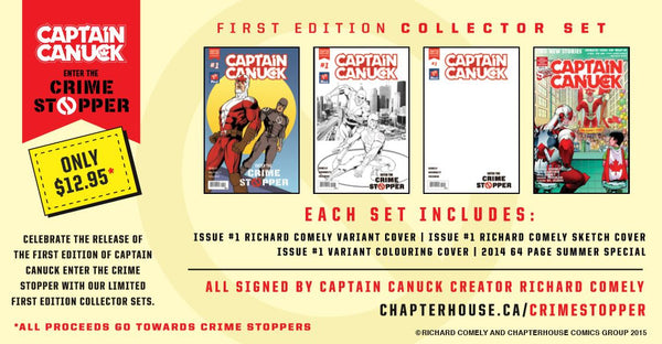 """Enter The Crime Stopper"" First Edition Collector Set"