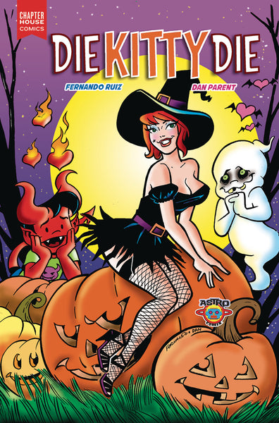 Die Kitty Die #1 Cover E - HALLOWEEN VARIANT by Fernando Ruiz