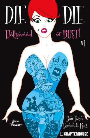 DIE KITTY DIE! Hollywood or Bust! #1 (Cover B—Dan Parent)
