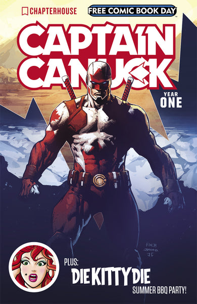 Captain Canuck Free Comic Book Day 2017