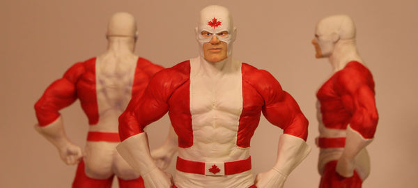 Captain Canuck Maquette by Richard Nowak (SUPER LIMITED)