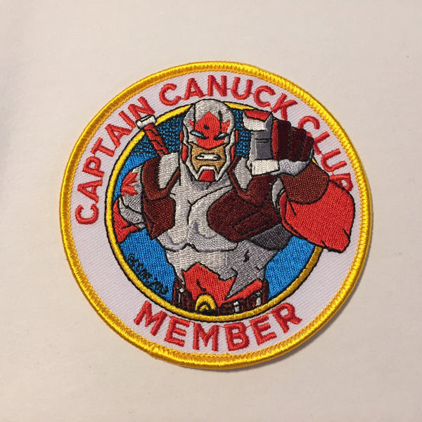 "New ""Captain Canuck Wants You!"" Club Member Patch"