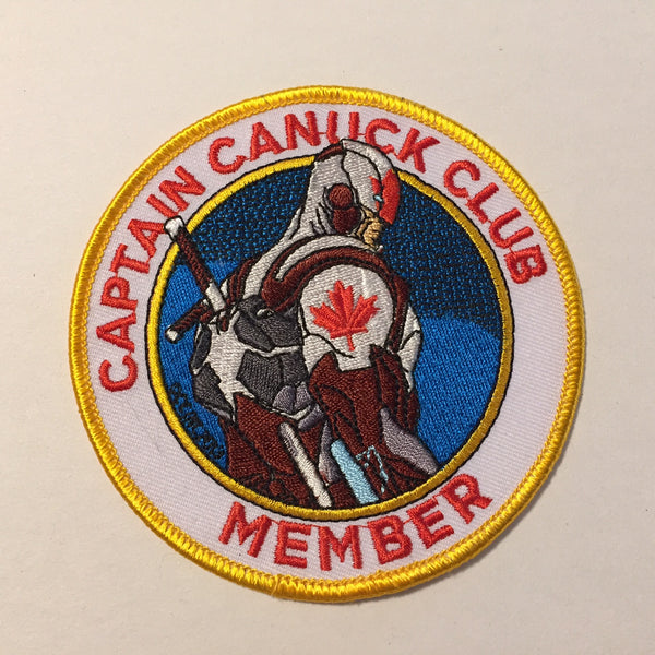 New Captain Canuck Club Member Patch