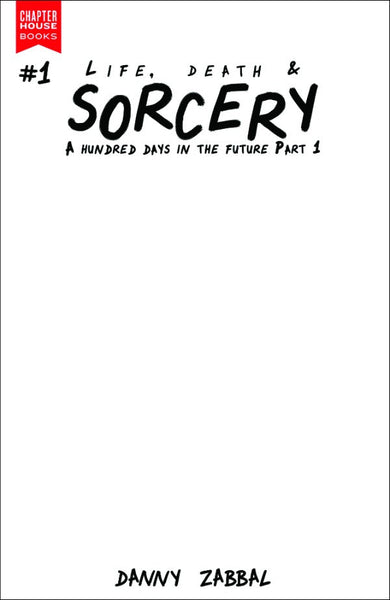 Life, Death & Sorcery #1 Blank Sketch Cover