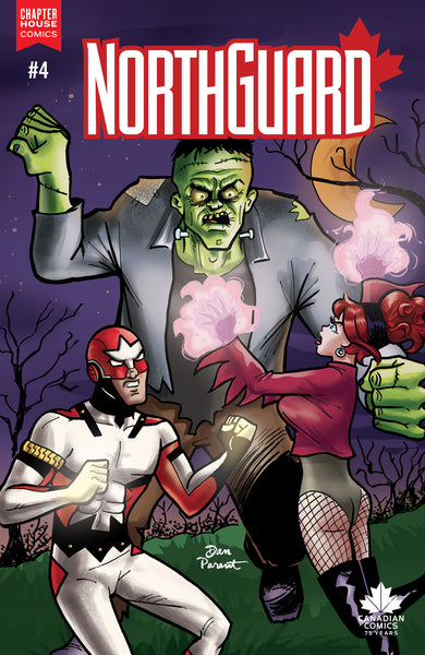 Northguard #4 Cover B - Die Kitty Die tie-in cover by Dan Parent