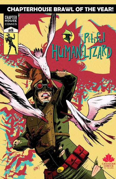 The Pitiful Human-Lizard #8 Cover B - Adam Gorham