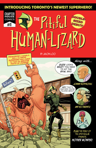 The Pitiful Human-Lizard #1 (Cover A by Jason Loo)