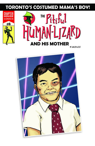 The Pitiful Human-Lizard #6 - Loo Variant Cover