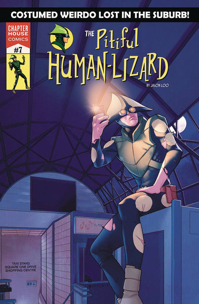 The Pitiful Human-Lizard #7 - Jamal Campbell Variant Cover