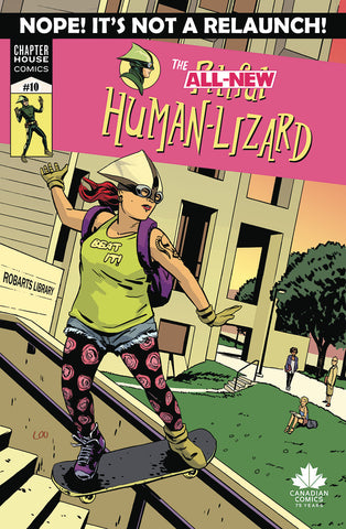 The Pitiful Human-Lizard #10 Cover A - Loo
