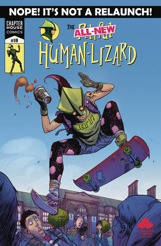 The Pitiful Human-Lizard #10 Cover B Dylan Burnett
