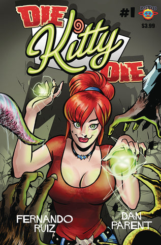Die Kitty Die #1 Cover B by Fernando Ruiz