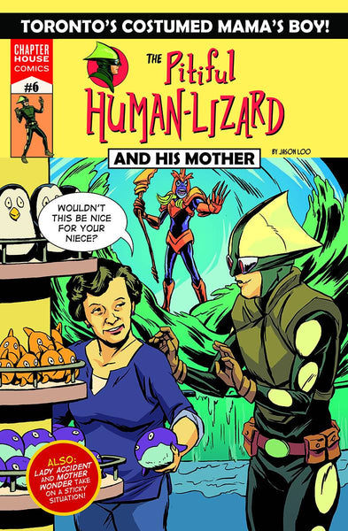 The Pitiful Human-Lizard #6